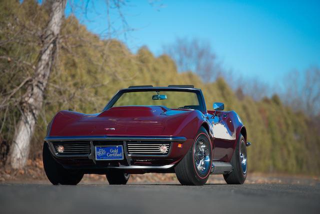 Bonhams : 1969 Chevrolet CORVETTE L88 ROADSTERChassis no