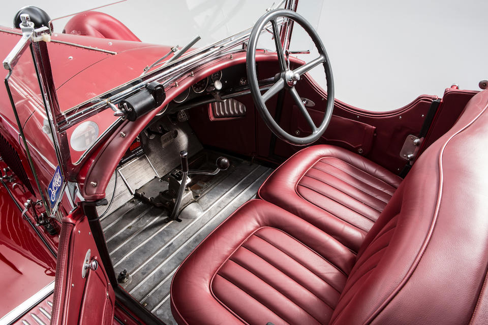 1931 ALFA ROMEO 6C 1750 SUPERCHARGED GRAN SPORT SPYDER  Chassis no. 10814358 Engine no. 10814358