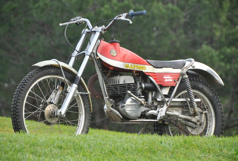 Bonhams : 1973 Bultaco Sherpa T Engine no  JM12500122