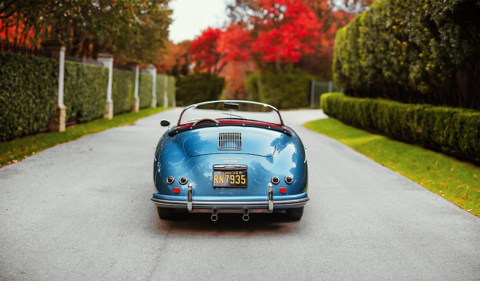 1956 Porsche 356A 1600 Speedster  Chassis no. 82601 Engine no. 62877