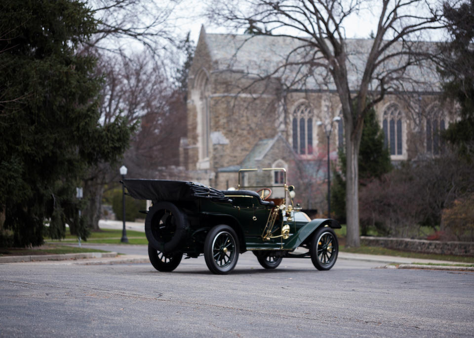 <b>1911 Pierce-Arrow Model 48 Touring</b><br />Chassis no. 9079<br />