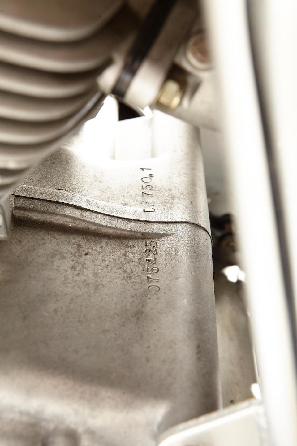 1975 Ducati 750 SS Frame no. DM750SS075437 Engine no. 075425DM7501