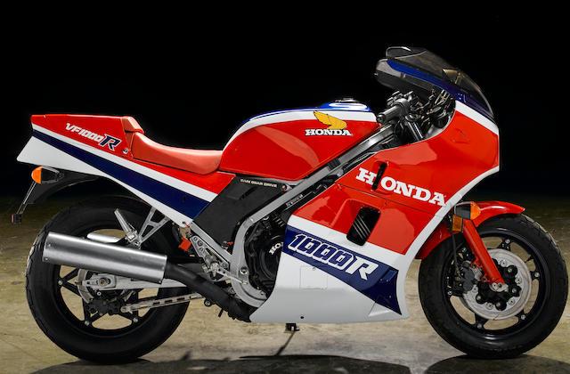 1985 Honda VF1000R Frame no. SC162 00078 3