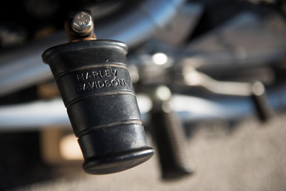 1960 Harley-Davidson XLR Flat Tracker Engine no. 60XLR2006