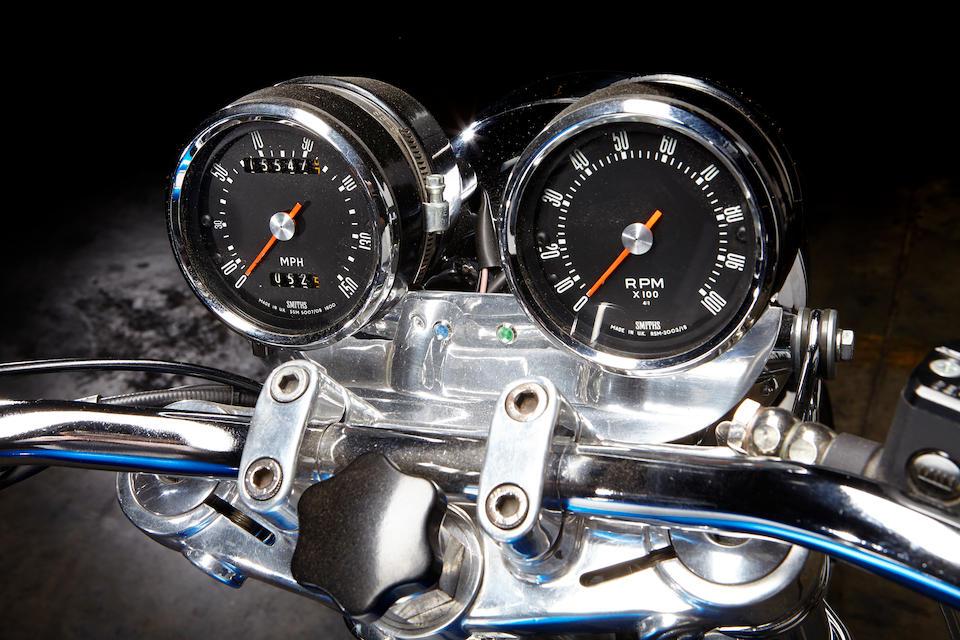 1973 Ducati 750 GT Frame no. 751187 Engine no. 751813