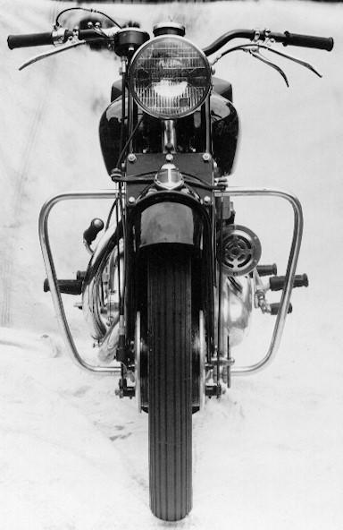 1949 Indian-Vincent Factory Prototype Frame no. RC4392 Engine no. F10AB/1/2492