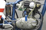 c.1958  Ducati  125cc 'Trialbero' Desmodromic Racing Motorcycle Frame no. DM125 03 Engine no. DM125 02