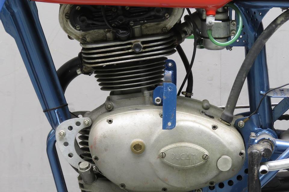 c.1958 Ducati 125cc 'Trialbero' Desmodromic Racing Motorcycle Frame no. DM125 03 Engine no. DM125 02