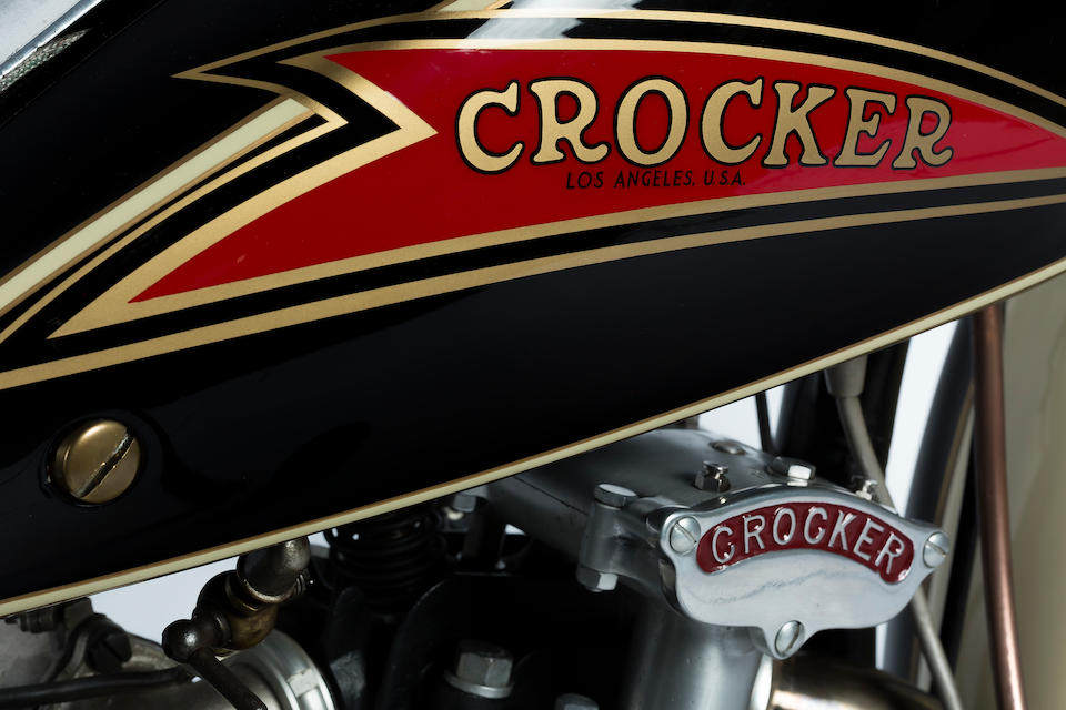 1936 Crocker 'Hemi Head'  Engine no. 36 61 8