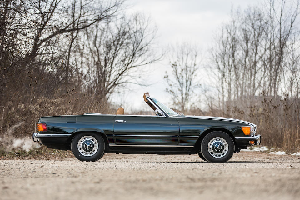 1973 MERCEDES-BENZ 450SL  Chassis no. 107044.12.012163