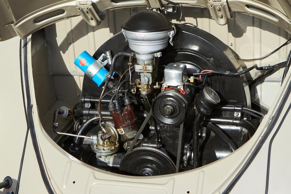 1956 VOLKSWAGEN  TYPE 1 BEETLE  Chassis no. 10988279 Engine no. 3784132