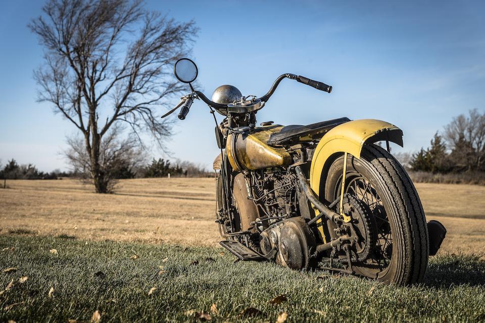 1932 Harley-Davidson VL 'Bobber' Engine no. 32VL5613