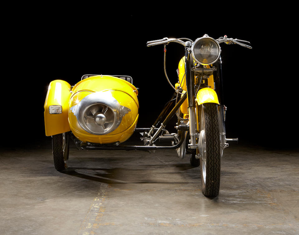 1973 Pannonia 250cc T5 with Duna sidecar Frame no. T573-22658