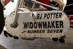 """1971 EJ Potter """"Widow Maker"""" Dragbike"""