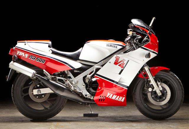 Yamaha RD500LC Frame no. 47X00 1366