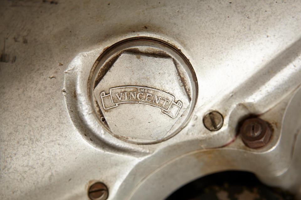 1951 Vincent 499cc Series C Comet Frame no. F5AB/2A/5897