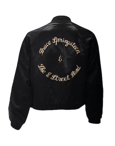 A Bruce Springsteen tour jacket gifted by Al Pacino