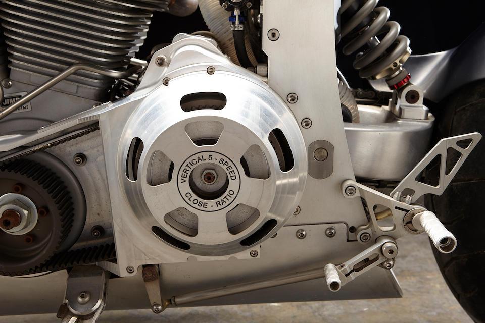 2008 Confederate Wraith B210 Frame no. 1C9SB29078B908022