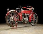 The ex-Steve McQueen,1912 Harley-Davidson X8E Big Twin Engine no. 7691B