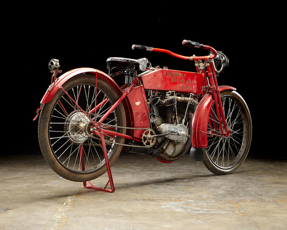 The ex-Steve McQueen,1912 Harley-Davidson X8E Big Twin Engine no. 7691B