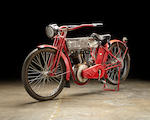 The ex-Steve McQueen ,1912  Harley-Davidson Big Twin Engine no. 7691B (matching barrel)