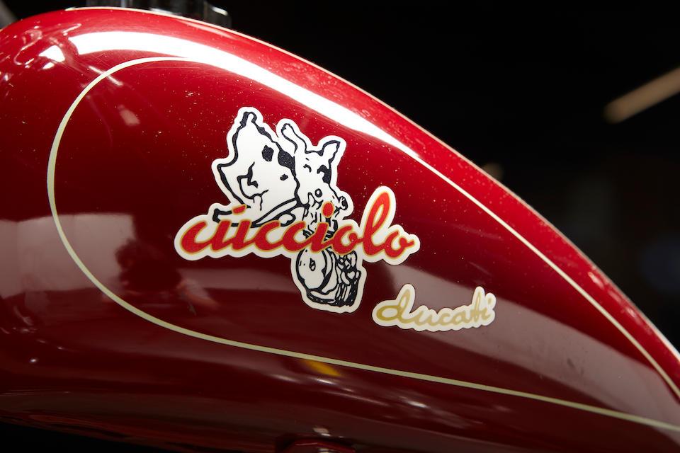 c.1947 Ducati 48cc Cucciolo Frame no. 5189 Engine no. 215792