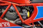 1984 DUcati TT1 Frame no. 6 Engine no. DM600L*702481*