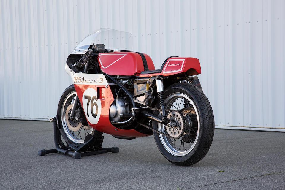 1973 BSA Rob North Formula 750 Triple