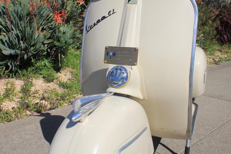 Bonhams : 1962 Vespa GL 150 Frame no  VLAIT01929 Engine no  VLAIM02061