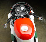 "One of 207 homologation ""kit bikes"",1988 Ducati 851 TriColore Frame no. ZDM3HB6T6JB850034 Engine no. HB6J850032"