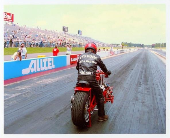 "1971 EJ Potter Chevrolet V8 ""Widowmaker 7"" Dragbike"