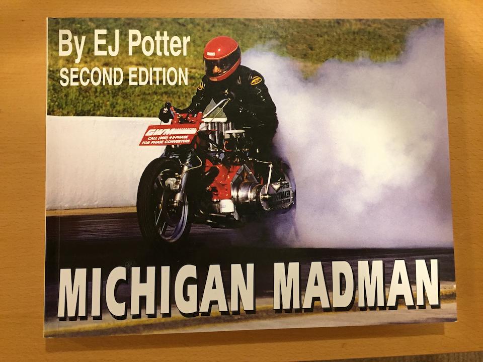 """1971 EJ Potter Chevrolet V8 """"Widowmaker 7"""" Dragbike"""