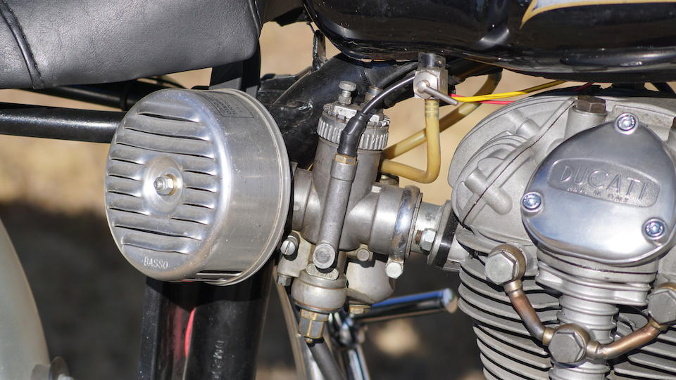 1967 Ducati 250 Scrambler Engine no. 99478