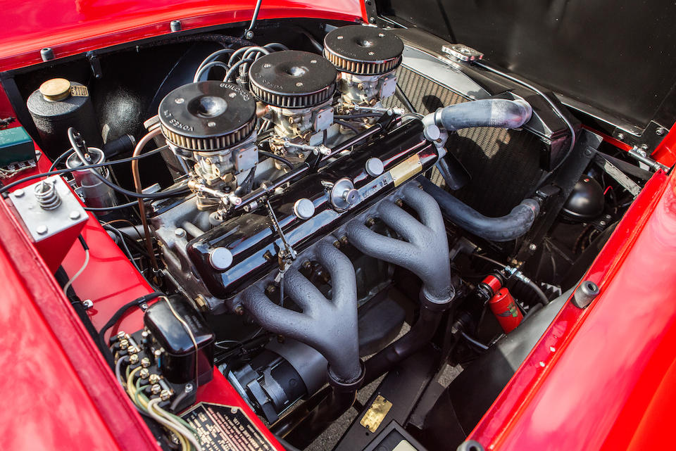 <b>1954 Arnolt Bristol Prototype Roadster</b><br />Chassis no. 404X3000<br />Engine no. 100D 754