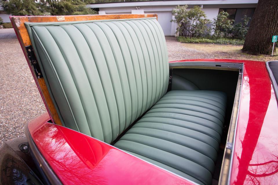 <b>1932 Bugatti TYPE 49 ROADSTER</b><br />Chassis no. 49534<br />Engine no. L423