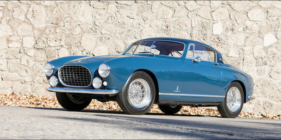 <b>1955 Ferrari 250 Europa GT Alloy</b><br />Chassis no. 0389 GT<br />Engine no. 0389 GT
