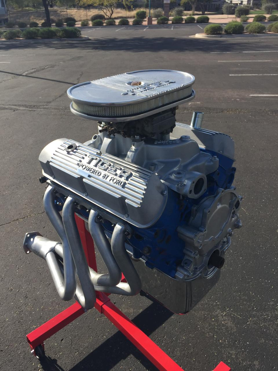 <b>1965 SUNBEAM TIGER Mk I</b><br />Chassis no. B9473614LRXFE<br />Engine no. 4624F21KA (see text)