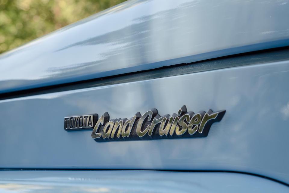 <b>1980 Toyota Landcruiser Series 40</b><br />Chassis no. BJ40-040920