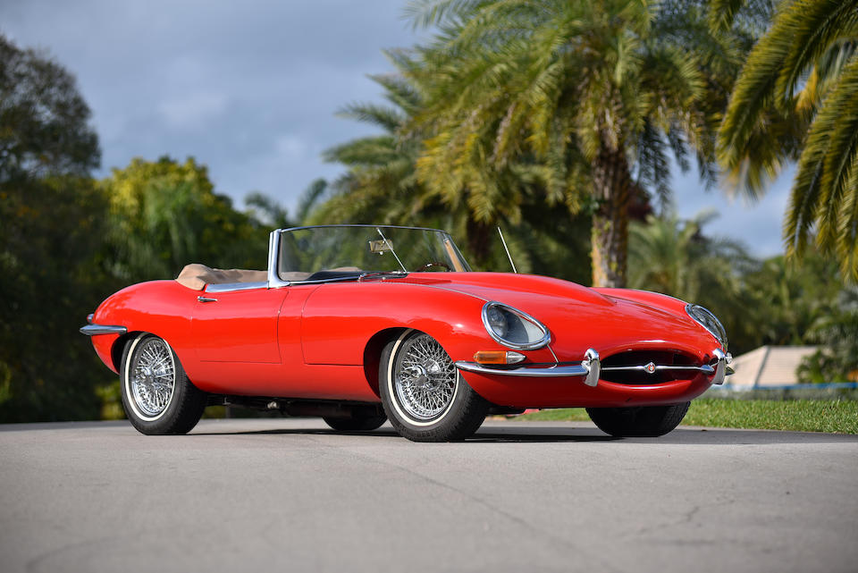 <b>1961 Jaguar E-TYPE SERIES 1 3.8 ROADSTER</b><br />Chassis no. 876166<br />Engine no. R2774-9