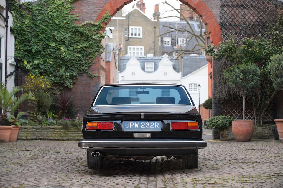 <I>Ex-Sammy Davis Jr.</I> <b>1977 Rolls Royce Camargue</b><br />Chassis no. JRF30980<br />Engine no. 30980
