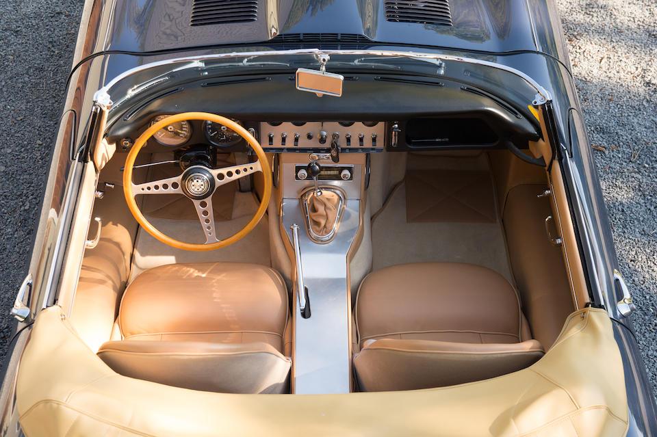 <b>1961 Jaguar E Type</b><br />Chassis no. 875053<br />Engine no. R1101-9