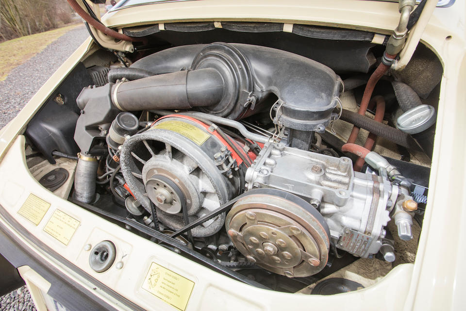 <b>1973 Porsche 911S Coupe</b><br />Chassis no. 9113300301<br />Engine no. 6330376