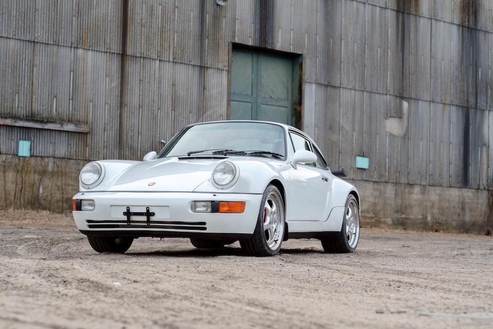 <b>1994 Porsche 911 3.6 Turbo</b><br />VIN. WP0AC2964RS480107<br />Engine no. 61P00760
