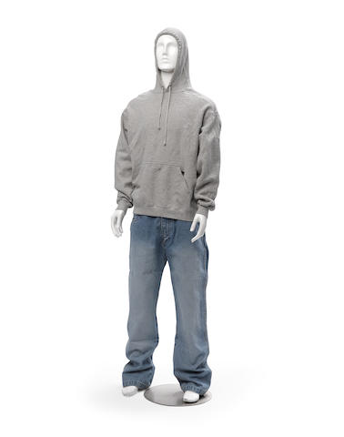 An Eminem costume from 8 Mile