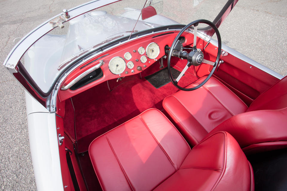 <b>1955 Daimler Conquest Century Roadster</b><br />Chassis no. 90476<br />Engine no. 72978