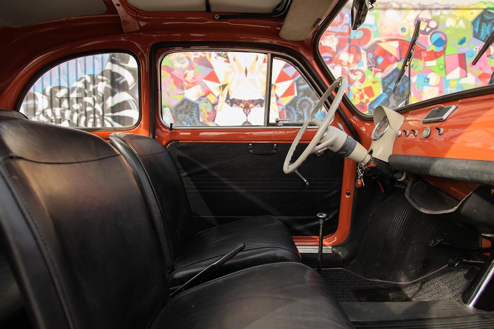 <B>1972 Fiat 500 F Saloon</B><br />Chassis no. 110 F 3070380<br />Engine no. 110 F 000 3388059