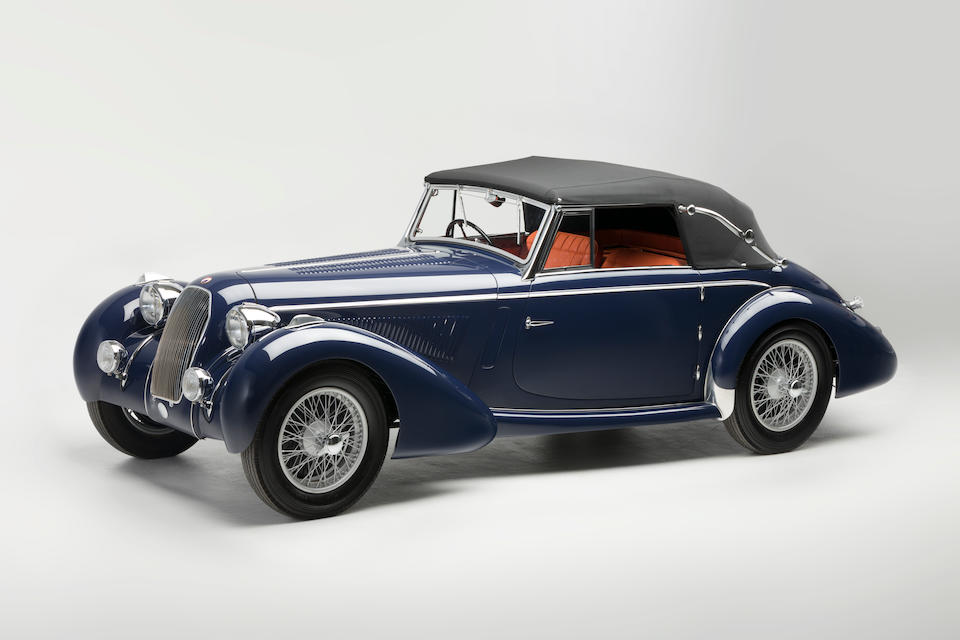 <b>1938 TALBOT-LAGO T150C 'Lago Sp&#233;ciale' Cabriolet</b><br />Chassis no. 90039