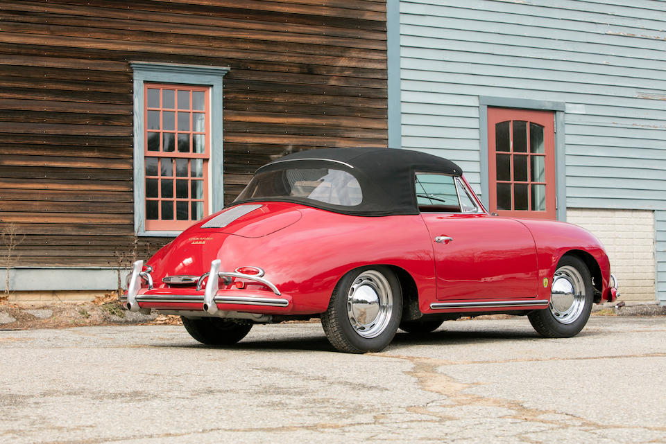 <b>1959 Porsche 356A Cabriolet</b><br />Chassis no. 151769<br />Engine no. 607327 (originally 73281)