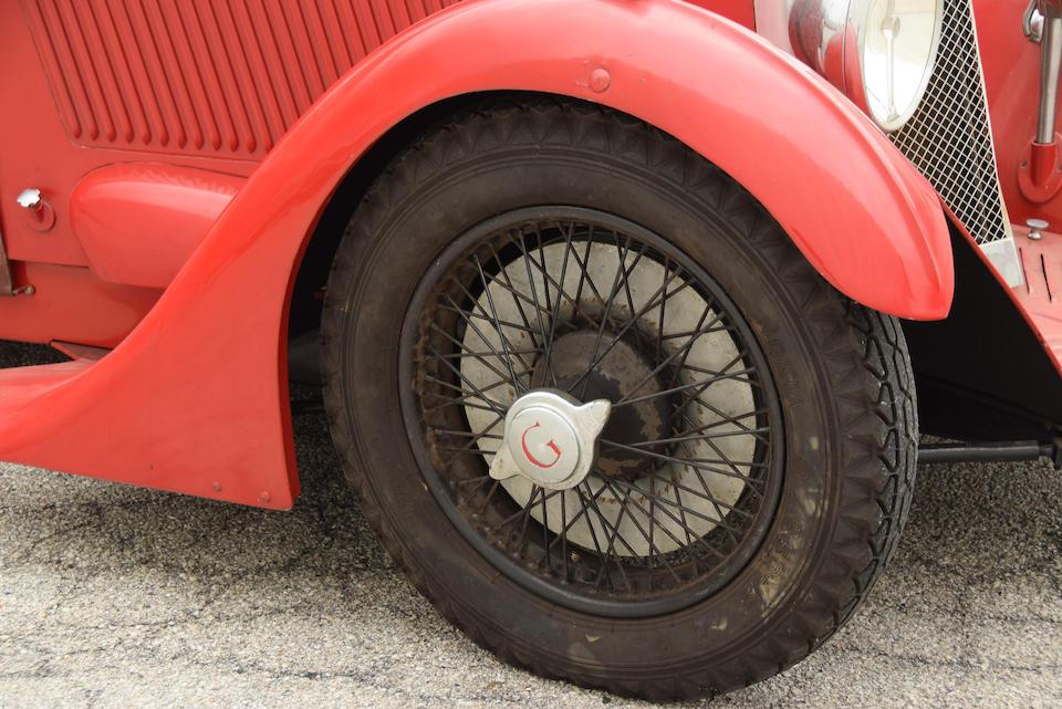 <b>1935 GODSAL SPORTS TOURER</b><br />Chassis no. 001