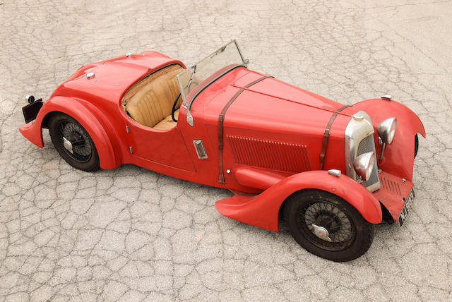 <b>1935 GODSAL SPORTS TOURER</b><br />Chassis no. 001